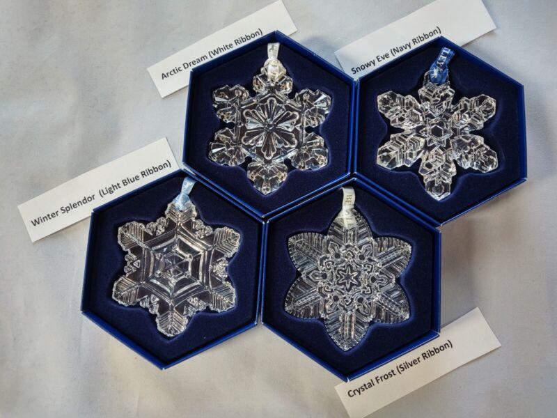 """Bentley Crystal - 2004 Wilson """"Snowflake"""" Bentley Collection - Full Set"""