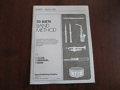 ED SUETA BAND METHOD - DRUMS - BOOK 1 - STUDENT LESSON BOOK - MACIE PUBLISHING