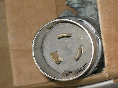 - HUBBELL  HBL7765C Heavy Duty Twist Lock PLUG 50A 3P-4W 250 VDC - 600 VAC