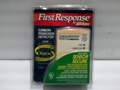 Carbon Monoxide First Response FC800 Plug in EUC Better Safe than