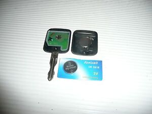 nissan qashqai k12 micra 2 button complete working key with new battery cr2016 ebay. Black Bedroom Furniture Sets. Home Design Ideas