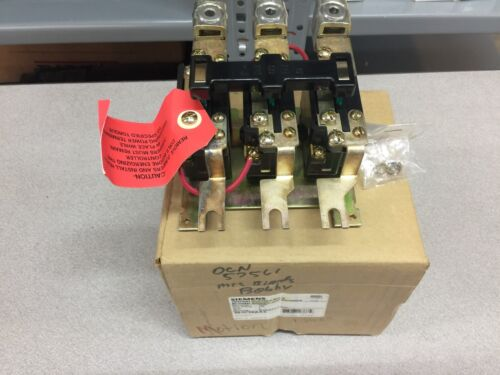 NEW IN BOX SIEMENS THERMAL OVERLOAD RELAY 48JC38AA3