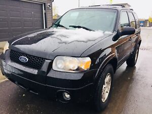 2005 Ford Escape Limited AWD Remote starter winter tires