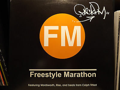 Pack Fm   Freestyle Marathon   Relay  12   2001    Rare    Celph Titled   Rise