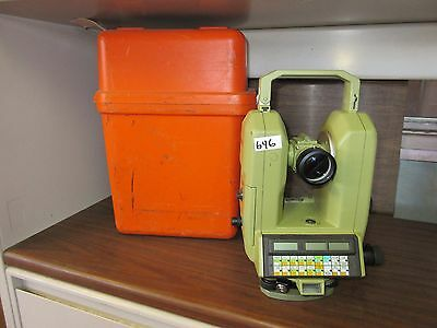 Leica Heerbrugg Theomat Theodite Survey Equipment Total Station