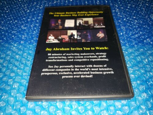 Jay Abraham DVD Marketing Makeovers Strategy Restructuring Profit Transformation