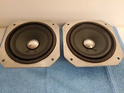"""VINTAGE REALISTIC Die Cast Full Range SPEAKERS 5"""" RARE 40-1311/ Fast shipping"""
