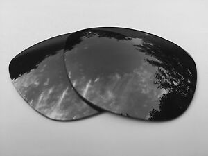 Espejo-Negro-Polarizado-Lentes-De-Reemplazo-Oakley-Frogskins-Polarizado