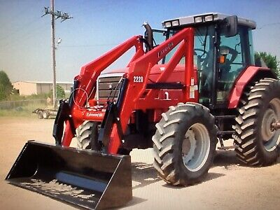Heavy Equipment Attachments - Front End Loader