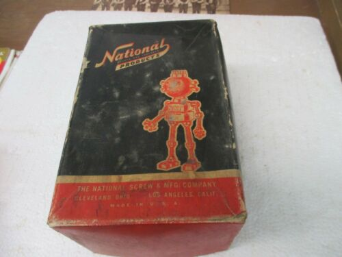 Vintage Box National Products Carriage Bolts 3/8 x 4 1/2