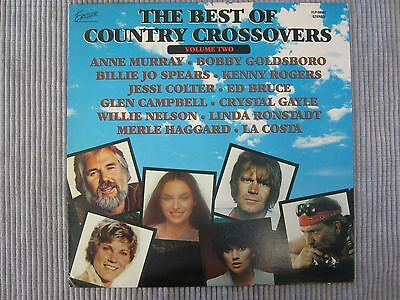 The Best Of Country Crossovers Volume Two  Vinyl Record Lp   Country Stars