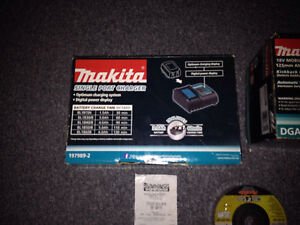 Makita brushless angle grinder/charger Ascot Vale Moonee Valley Preview