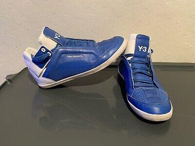 Adidas Y-3 Yohji Yamamoto Kazuhiri Hi Shoes Size 6.5 US Men's Blue (Art Q34372)