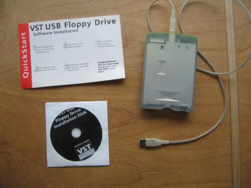 VST USB Floppy Drive w/disc and instructions