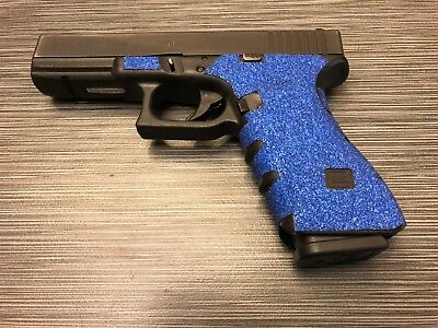 HANDLEITGRIPS Blue Sandpaper Gun Grip Tape Wrap For Glock 17 Gen 3 - $14.99