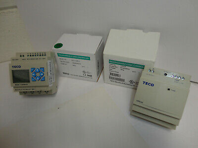 Teco Sg2-12hr-d Programmable Relay 10ps-24 24vdc Power Supply Combo