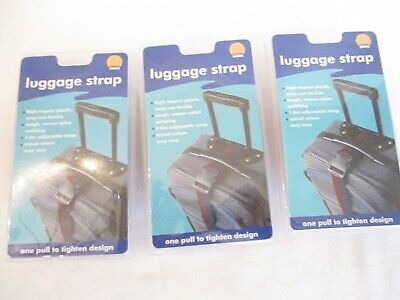 3 Luggage Strap Rainbow 1.8m Adjustable Strap  Woven Nylon High Impact Buckle Woven Luggage Strap