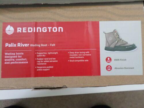 Redington Palix River Wading Boot, Felt, Mens Size 12 US, New in Box