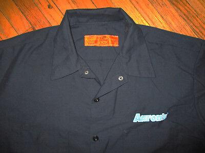 AARON'S Arbeitshemd Uniform Lkw-Fahrer Möbel TV Elektronik Vermietung Laden XL