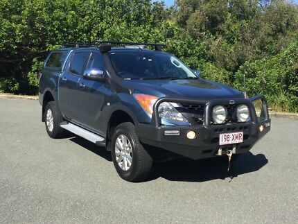 MAZDA BT 50 GT AUTO DUAL CAB 4WD WITH THE WORKS