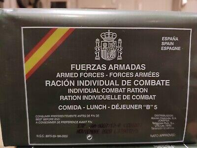 Spaniard MRE B5 beans with ham- Racion de Combate B5 judias con jamon