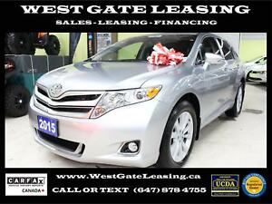 2015 Toyota Venza LEATHER | CAMERA | NO ACCIDENTS |
