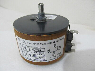 Superior Powerstat 10c Variac 120 Vac Variable Transformer