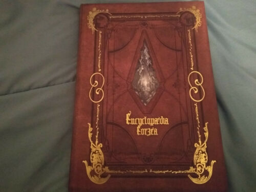 Final Fantasy XIV ENCYCLOPAEDIA EORZEA Lore Book Volume I - Signed