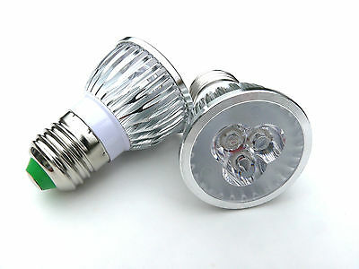 3X3 Watt LED 850nm IR Infrared illuminator Spot-light E27 bulb for CCTV Cameras
