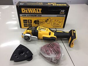 Dewalt DCS355N 18V Brushless Multitool - SKIN ONLY With 29 Accessories Logan Central Logan Area Preview