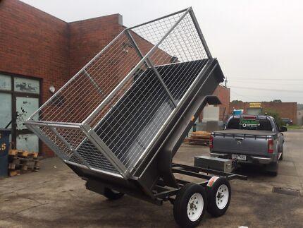 8x5 tipper trailer
