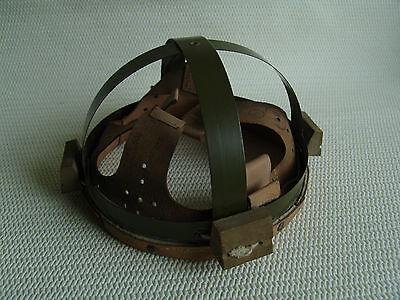 Stahlhelm Innenfutter Größe 60 Leder Polen wz.67 wie neu Militärware, Lagerware