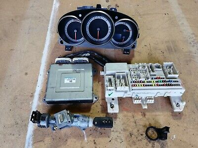 2005 MAZDA 3 SPORT 2.0 PETROL ECU KIT WITH IGNITION BARREL AND KEY LF5018881G