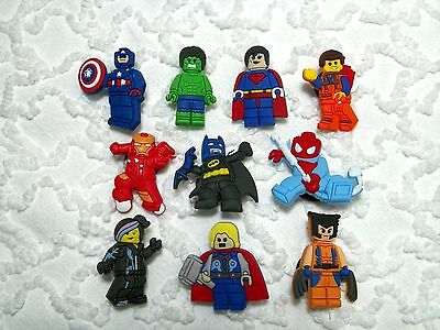 Croc Clog  Lego Super Hero Plug Shoe Charms Will Also Fit Jibitz,Croc  C 656