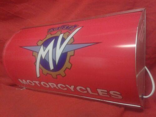 MV Agusta,racing,classic,garage,light up,sign,display,mancave,workshop,retro
