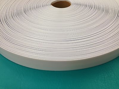 "1.5"" Vinyl Chair Strap Strapping Outdoor Patio Furniture Repair 40' White 1 1/2"""
