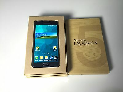 GSK_Samsung Galaxy S5 LTE-A 32GB Unlocked SM-G900 Sim Free FullSet BLACK