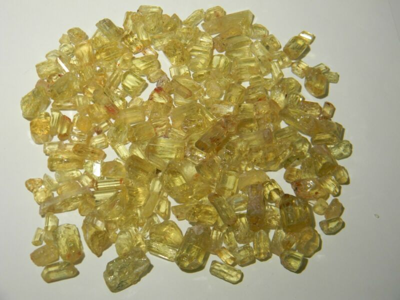 Apatite Facet Rough Mexico Old Collection 250gms Lot