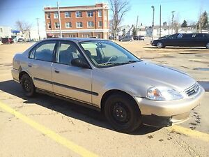 2000 Honda Civic 4-Door Sedan $1450