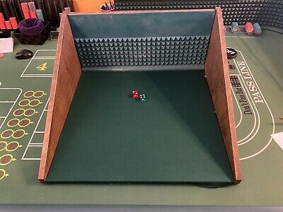 "Craps Practice Table-  For dice control- 24"" x 24 """