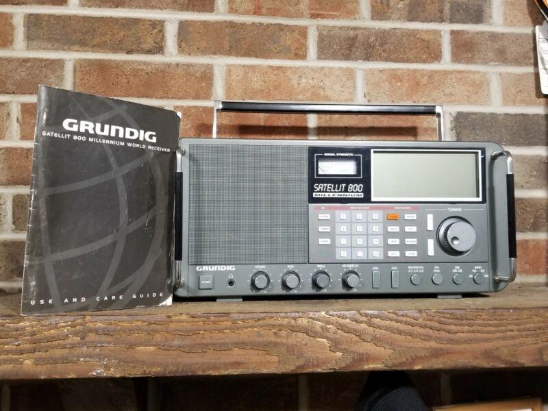 Grundig Satellit 800 Millennium Shortwave Radio AM FM Short wave