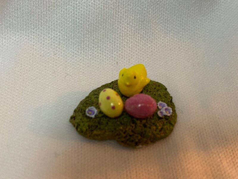 Wee Forest Folk Tiny Accessory Easter Eggs and Chick
