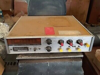 Systron Donner 6152a Freq Countertimer 8-digit Nixie Display Powers On