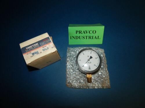 """Ametek US Gauge 161963 Pressure Gauge 0-15 PSI H2O 2-1/2""""(2.5"""") Diameter"""