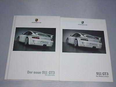 originales Porsche Buch / Broschüre Der neue 911 GT3 (Die reine Lehre)