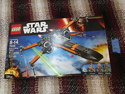 Disney Lego Star Wars Lot POE'S X-WING FIGHTER 75102 BRAND NEW SEALED MISB