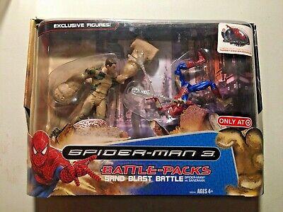 Spiderman 3 Battle Pack Sand Blast Battle 2 Pack Target Exclusive