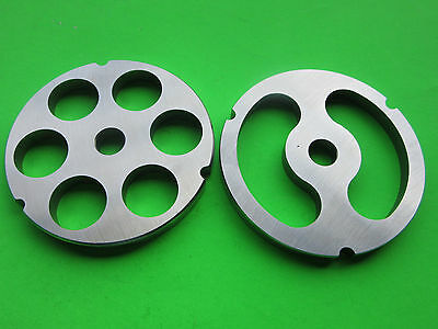 32 X 1 Stuffing Disc Meat Grinder Plates For Hobart Lem Cabelas Biro Etc