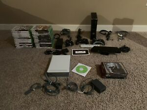 250 GB Xbox360 with games and accessories