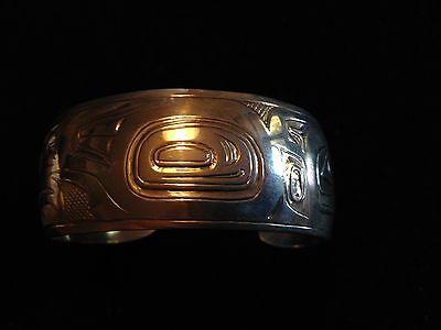 "Museum Quality Tlingit Ketchikan Alaska Bracelet ""Nathan Jackson"" 1973 ""Rare"""